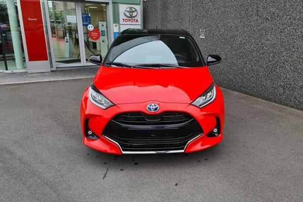 De nieuwe Toyota Yaris is aangekomen.